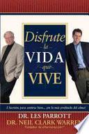 Libro de Disfrute La Vida Que Vive