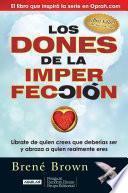Libro de Los Dones De La Imperfección