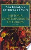 Libro de Historia Contemporánea De Europa