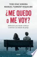 Libro de ¿me Quedo O Me Voy?