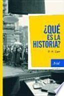 Libro de ¿qué Es La Historia?