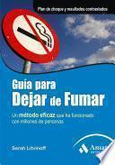 Libro de Guia Para Dejar De Fumar.