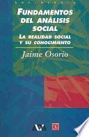 Libro de Fundamentos Del Análisis Social