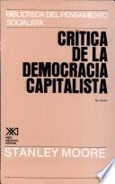 Libro de Crítica De La Democracia Capitalista