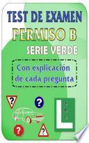 Libro de Test De Examen De Conducir Dgt Permiso B   Turismos