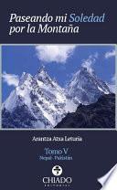 Libro de Paseando Mi Soledad Por La Montaña
