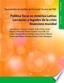 Libro de Fiscal Policy In Latin America