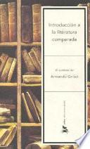 Libro de Introducción A La Literatura Comparada
