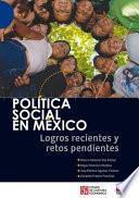 Libro de Política Social En México