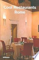 Libro de Cool Restaurants Rome