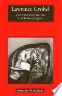 Libro de Conversaciones íntimas Con Truman Capote