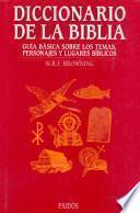 Libro de Diccionario De La Biblia