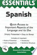 Libro de The Essentials Of Spanish