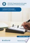 Libro de Organización De Viajes Nacionales E Internacionales. Adgg0108