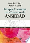 Libro de Terapia Cognitiva Para Trastornos De Ansiedad