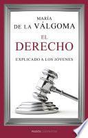 Libro de El Derecho Explicado A Los Jóvenes