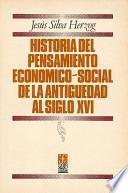 Libro de Historia Del Pensamiento Económico Social