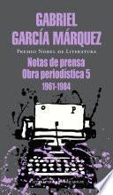 Libro de Notas De Prensa