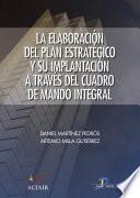 Libro de La Elaboracion Del Plan Estratégico A Través Del Cuadro De Mando Integral