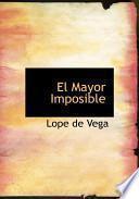 Libro de El Mayor Imposible