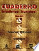 Libro de Florencio Villarreal Guerrero. Cuaderno Estadístico Municipal 20012002