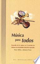 Libro de Música Para Todos