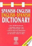 Libro de Spanish English, English Spanish Dictionary