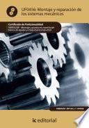 Libro de Montaje Y Reparación De Los Sistemas Mecánicos. Fmee0208
