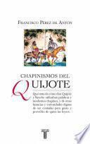 Libro de Chapinismos Del Quijote