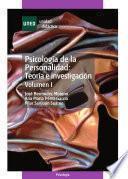 Libro de PsicologÍa De La Personalidad: TeorÍa E InvestigaciÓn. Volumen I