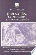 Libro de Jerusalén, La Emanación Del Gigante Albión