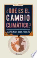 Libro de ¿qué Es El Cambio Climático?