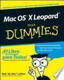 Libro de Mac Os X Leopard Para Dummies