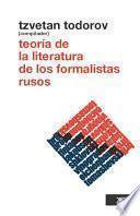 Libro de Teoría De La Literatura De Los Formalistas Rusos