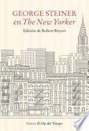 Libro de George Steiner En The New Yorker