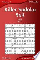 Libro de Killer Sudoku 9×9   Fácil   Volumen 2   270 Puzzles