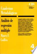 Libro de Análisis De Regresión Múltiple