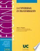 Libro de La Universidad, En Transformación