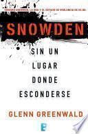 Libro de Snowden. Sin Un Lugar Donde Esconderse