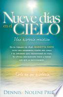 Libro de Nueve Días En El Cielo: Una Historia Verídica