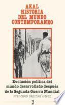 Libro de Evolución Política Del Mundo Desarrollado Después De La Segunda Guerra Mundial