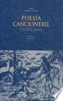 Libro de Poesía Cancioneril Castellana