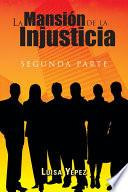 Libro de La Mansión De La Injusticia