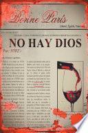 Libro de No Hay Dios