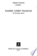 Libro de Daniel Cosío Villegas