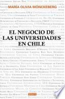 Libro de El Negocio De Las Universidades En Chile