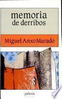 Libro de Memoria De Derribos