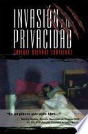Libro de Invasión A La Privacidad