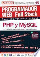 Libro de Programacion Web Full Stack 15   Php Y Mysql