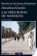 Libro de Las Tres Bodas De Manolita
